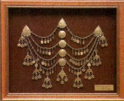 Needle-bride's head ornament, Galicnik 19th century, Republic of Macedonia